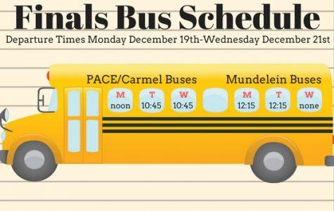 Final bus schedule