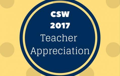 Showing teachers the love
