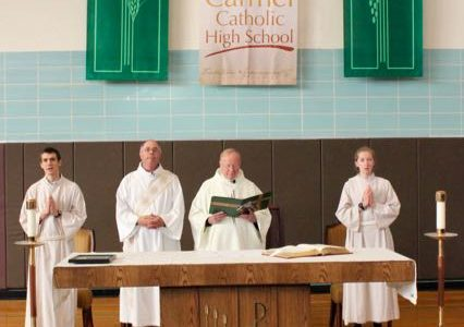 Mass goes back to its roots