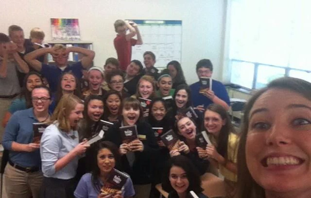 Ms.+Daluga%27s+sophomore+English+class+caught+the+attention+of+Markus+Zusak%2C+author+of+the+%22Book+Thief.%22