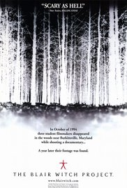 4. The Blair Witch Project (1999) [Rated R]