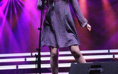"Carmel singer shines ""Bright"""
