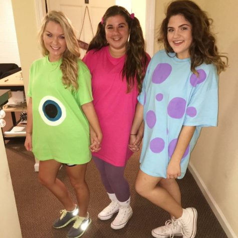 Mike, Boo, and Sully