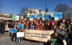 Carmel seniors participate in annual Right to Life March