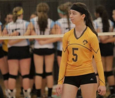 Erin Pye dominates the net in an all-boys league