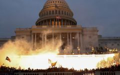 Leah Millis, a photographer for Reuters, was on hand Wednesday to capture the chaos at the Capitol.